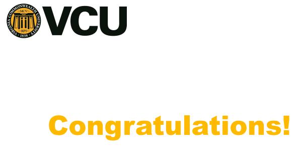 Embrace Receives VCU Partnership Development Grant!